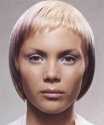Стрижка шапочка на средние волосы с