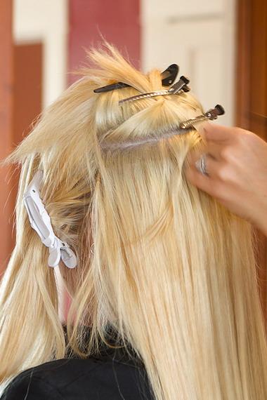 Капсульное наращивание волос видео
