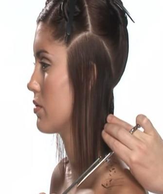 Как сделать пучок на голове