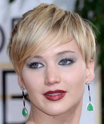 Ассиметричные прически на короткие волосы