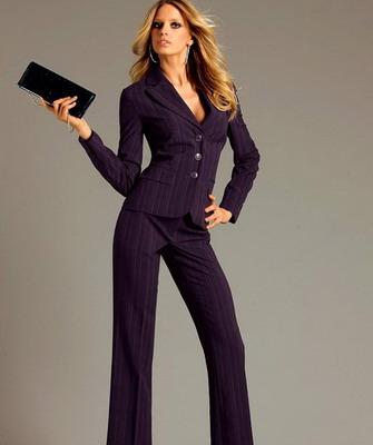 презентация одежда деловой женщины