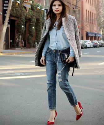 Обувь под джинсы и юбку