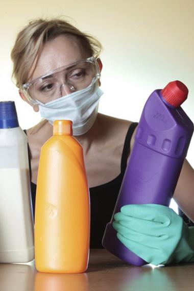О вреде бытовой химии для здоровья человека