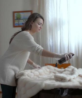 Как почистить шубу из норки в домашних условиях