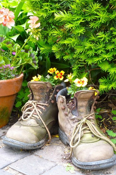 Обуви своими руками на даче 416