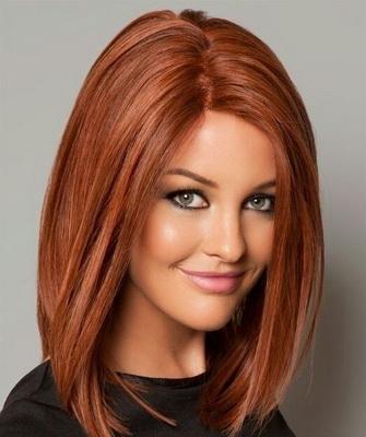 Цвет волос с рыжим оттенком