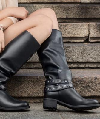 d437b178f Обувь на осень-зиму 2018-2019: модные сапоги из Италии и других стран