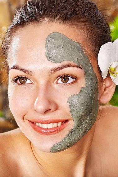 маски из черной глины для проблемной кожи