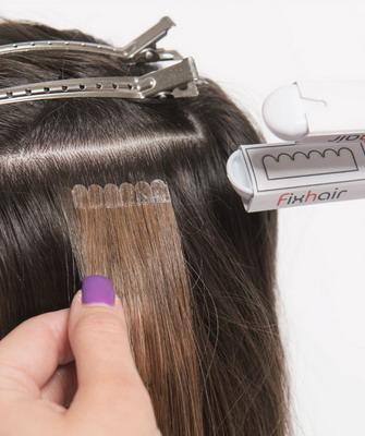 Наращивания волос домашних условиях