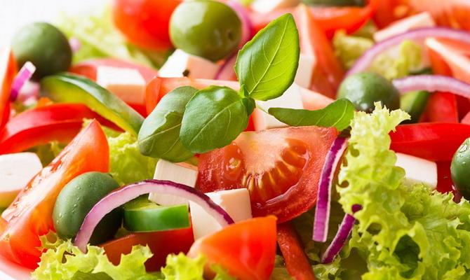 рецепт салата из кальмаров и креветки