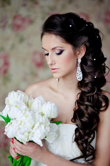 Фото свадебные косы