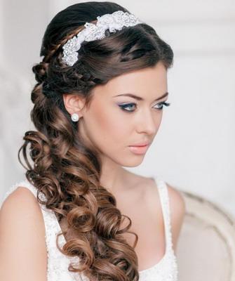 Косы свадебные прически фото