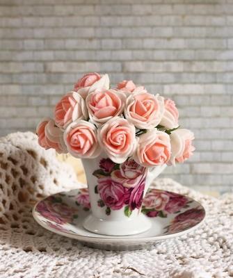Шебби-шик цветы