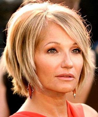 Прически для женщин 40 лет на средние волосы омолаживающие