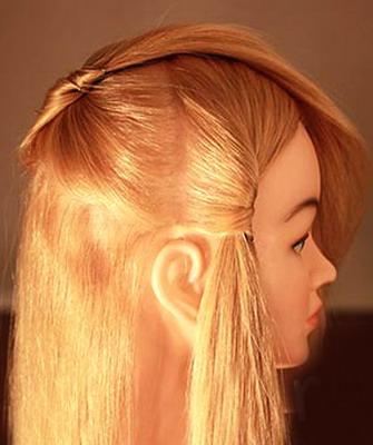 Как красиво заколоть сзади распущенные волосы (с фото и видео)
