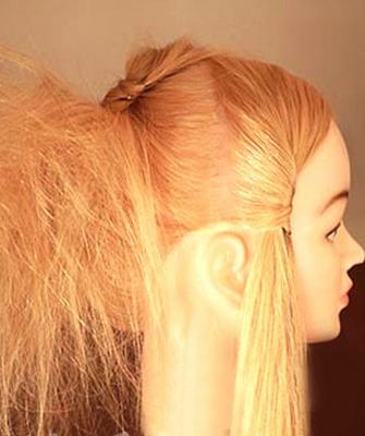 прически без вреда для волос