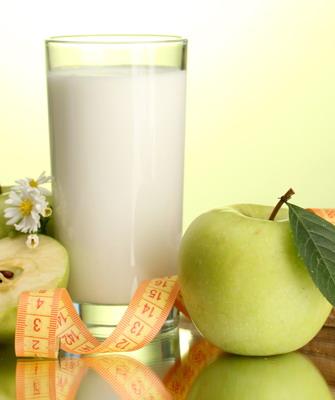 Кефирно-яблочная диета: похудение за 3 7 дней.