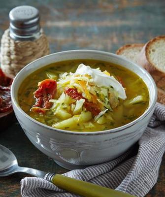 рецепты вегетарианских супов при гастрите с