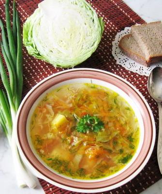 щи вегетарианские рецепты диета 5