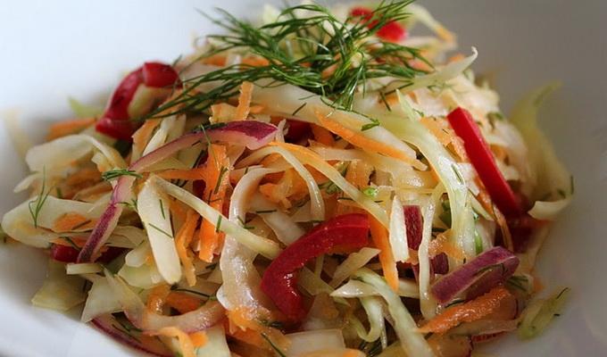 Фото осенних салатов