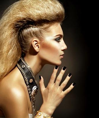 креативные причёски на длинные волосы фото
