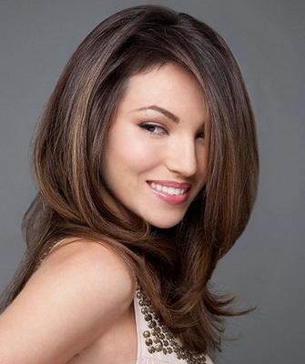 Объемные укладки на длинные волосы