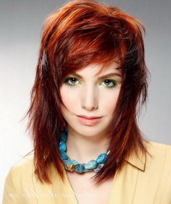 Объемные стрижки на длинные волосы - 32