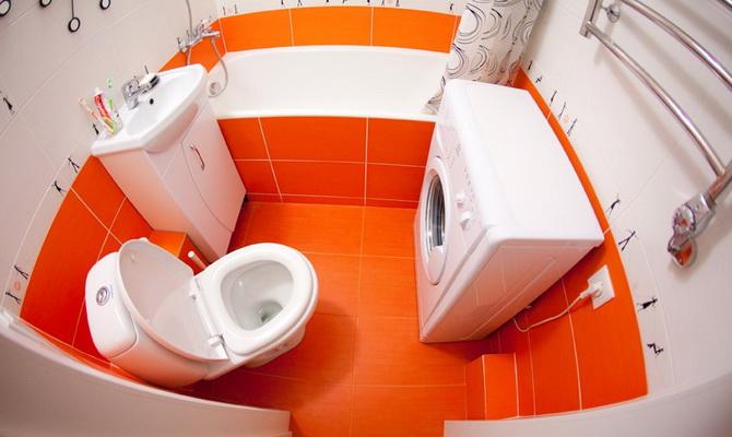 Как сделать ремонт в маленькой ванной с туалетом 840