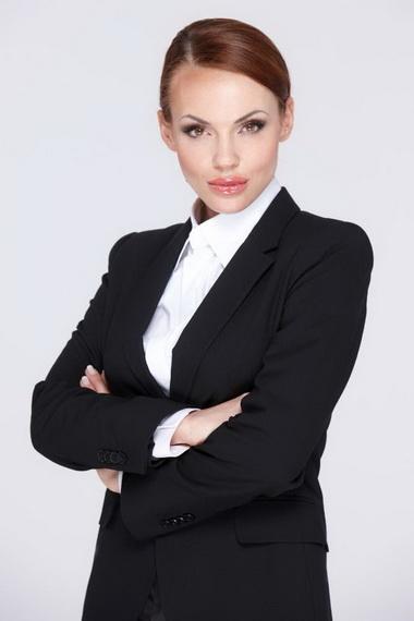 Стильные деловые стрижки женские