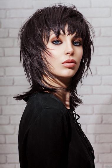 Стрижка рапсодия на короткие вьющиеся волосы