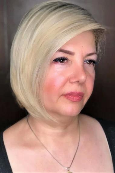 Стрижка волос полное лицо